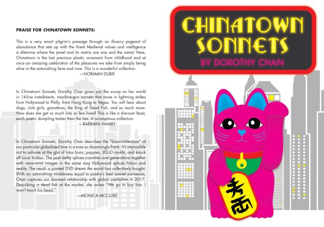 Chinatown Sonnets Front and Back Cover